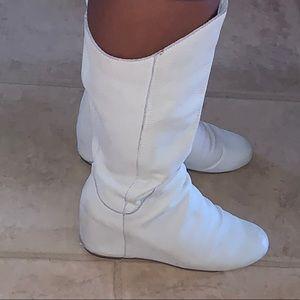 Aldo Cream Boots